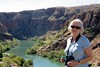 Ann overlooking the Ord River from the dam wall IMG_2116 (Royjackward) Tags: overlooking ord river from dam wall