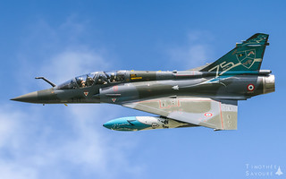 BA105 | Armée de l'Air 'Couteau Delta' Dassault Mirage 2000D