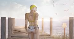 Blessed sunshine (roxi firanelli) Tags: vintagefair palegirlproductions vanityhair elleboutique canimal carolgtattoos swallow 22769 delmay summer secondlife