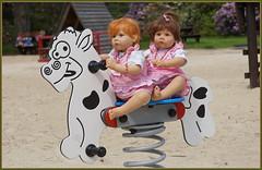 Bebé und Nannett ... (Kindergartenkinder 2018) Tags: kindergartenkinder bebé nannett schloss lembeck