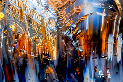 Natural History (Michael Lee - mplee.com) Tags: mplee hdr icm incamera nophotoshop abstracted abstract photograph london street natural history museum drag blur colour texture layer ghosting multiple exposure