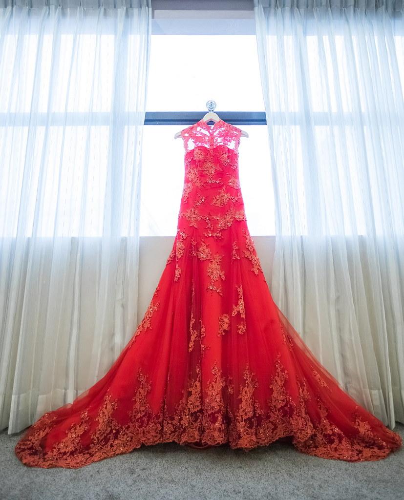 0003婚禮紀錄-婚攝-內湖和璞飯店-禮服