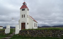 Modrudalur exterior Iglesia Islandia 01 (Rafael Gomez - http://micamara.es) Tags: exterior iglesia y cementerio en modhrudalur islandia modrudalur möðrudalur church eglise