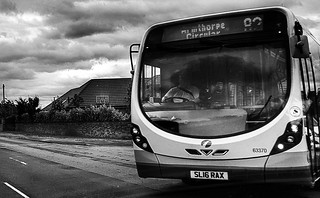 First Bus 63370 in Armthorpe, Doncaster.