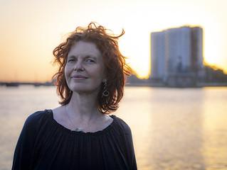 Hanneke, Sugar City 2018: Backlit curls