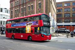 Arriva London HV360 (cybertect) Tags: 243 arriva arrivalondon carlzeissdistagont35mmf28mm hv360 lf67evr london londonbus sonya7ii volvob5lh wrighteclipsegemini3 bus doubledecker route243