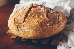 Homemade bread (Inka56) Tags: bread homemadebread 7dwf baking woodtable