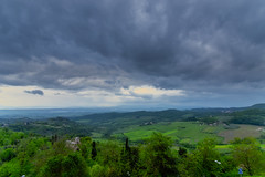 Enhanced Tuscan Countryside (dcnelson1898) Tags: montepulciano tuscany italy hilltown