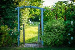 Seuil (antoine.domenger) Tags: jardin seuil limoges france garden border limes limen frontier gate porte clôture chaise