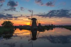 Kinderdijk (AlexKr81) Tags: windmill kinderdijk holland netherlands sunset