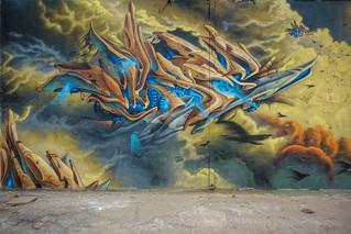 Incroyable graff by Mysé !