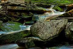 On the Rocks (Ted Bowman Photography) Tags: canaanvalley spring2018workshop westvirginia blackwaterfallsstatepark elakalafalls shaysrun canon70200f28l longexposure