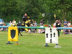 DSCF3768 (SierPinskiA) Tags: ruffordabbeycountrypark rufford knightsofnottingham fujixs1 jousting medieval horse knights goldeneagle falcon