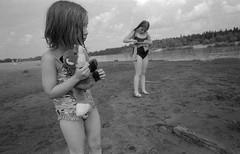 Scan-180624-0004 (Oleg Green (lost)) Tags: kids summer country river sun film 35mm bw blackandwhite rf rangefinder kodak academy 200 expired bessat voigtlander sskopar 4025