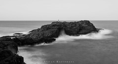 Blow Hole Point in Black and White (StefanKleynhans) Tags: blackandwhite blackwhite bw nisi 10stop nd1000 longexposure rocks water horizon waves ocean southpacificocean kiama nsw australia landscape time slow contrast nikond7100 nikon1635f4