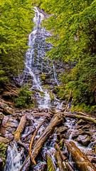 Mingo Falls (augphoto) Tags: augphotoimagery nature outdoors river scenic water waterfall cherokee northcarolina unitedstates