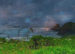Mist and memories... (Sherrianne100) Tags: seascape scenic pacificocean oregon westcoast