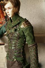 Elven ranger costume for sale (rangvar) Tags: bjd balljointeddoll abjd bjdphoto bjdclothes elven dollphoto handmade ooak