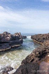 Glass Beach Kauai 2 (strjustin) Tags: glassbeach kauai hawaii lavarock ocean landscape beautiful beach clouds