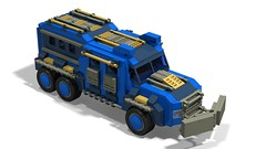 o1 6w suv weapons-transport (demitriusgaouette9991) Tags: lego military army ldd armored vehicle suv deadly powerful future