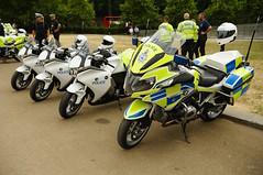 RAF100 celebration, London flypast day, 63 (D.Ski) Tags: raf royal air force raf100 100 100years anniversary nikon nikond700 london uk england buckinghampalace wellingtonarch hydeparkcorner july2018 2018 celebrate celebration flypast police motorbikes motorbike