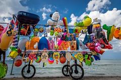 In vendita (grzegorzmielczarek) Tags: apulien italy beach portocesareo italia puglia salento spiaggia spiaggiaconchigliaazzurra strand italieen italien it