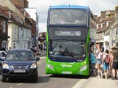 17 July 2018 Wareham (8) (togetherthroughlife) Tags: 2018 july dorset wareham hf66dsu bus more 40