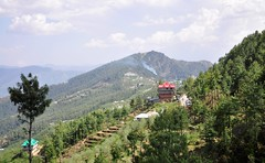 The magnificent Himalayas (mala singh) Tags: sky mountains clouds forest trees himalayas himachalpradesh india
