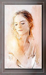 Rose Leslie (andrzejslupsk) Tags: woman portrait actress andrzej słupsk slupsk hollywood face movie art roseleslie
