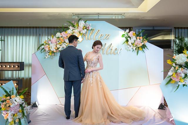 Allen&Alice-台南大億麗緻宴客-婚禮記錄-61