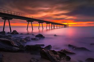 Pont del petroli sunrise NE