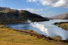 Gresley K4 No. 61994 'The Great Marquess' - Loch Eilt (Jonathon Gourlay) Tags: