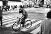 Down Slope. (Akira.Tagawa_JPN)) Tags: akira tagawa monochrome tokyo bike bicycle アキラ タガワ shibuya street