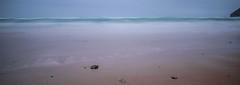 On the shoreline (NikNak Allen) Tags: mawganporth cornwall beach sand bay coast rocks stones sea water ocean horizon sky seascape low morning early longexposure smooth surf waves