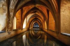Siviglia - il bagno arabo (encantadissima) Tags: siviglia andalusia spagna bagnoarabo archi riflessi acqua meraviglia