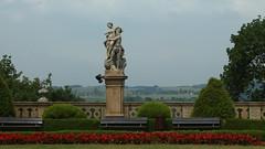 Książ - rzeźby na dziedzińcu (jacekbia) Tags: europa polska poland książ zamek rzeźba dziedziniec architecture architektura canon 1100d