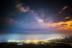 A sky full of stars (modesrodriguez) Tags: alcocebre alcossebre ermitasantalucia sky milkyway longexposure highiso landscape nightscape nightphotography clouds stars galacticcentre