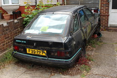 1989 Ford Sierra 1.8 GL (doojohn701) Tags: abandoned wrecked mould black 1989 ford sierra vintage retro classic car uk cctv finished decay dead