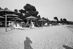 Strasko Beach Selfie_Novalja (Koprek) Tags: fujigw690ii 6x9 medium fomapan 100 film straško beach novalja croatia may 2018 selfie