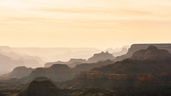 Layers and light. (pn.praveen) Tags: grandcanyon nationalpark arizona arizonapassages ridges silhouette pattern
