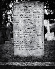 Sad Account (joegeraci364) Tags: grave cemetery history death tragedy family black white stone