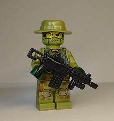 BrickArms Tactical NATO Battle Rifle Prototype (enigmabadger) Tags: brickarms lego custom minifig minifigure fig weapon weapons accessory accessories combat war prototype proto test modern