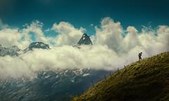 The Mountain Calls (Chrisnaton) Tags: themountaincalls mountains switzerland alpine klingenstock stoos hiking upthehill clouds schwyz