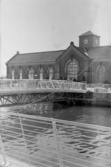 Belfast Docks 24062018 - 023 (irishlad031_vintage) Tags: belfast beirax browniecamera blackwhite ulster ulsterisirish irishlad031vintage irishlad031 irish film ireland vintagephotography cityscape coantrim docks titanicquarter 120mmfilm 120mm mediumformat
