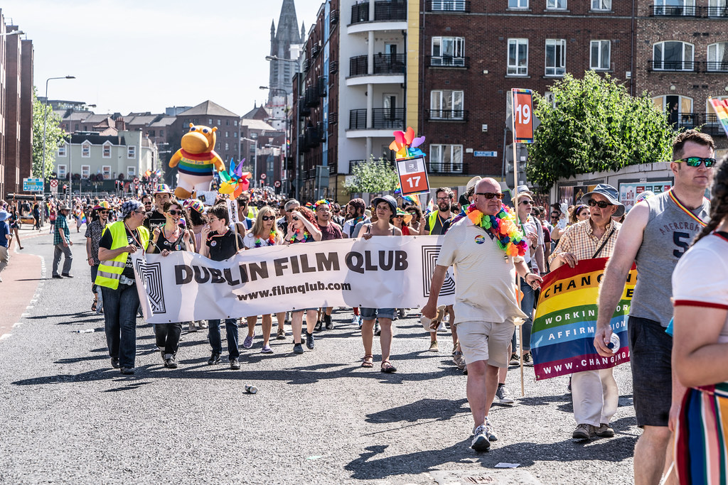 ABOUT SIXTY THOUSAND TOOK PART IN THE DUBLIN LGBTI+ PARADE TODAY[ SATURDAY 30 JUNE 2018] X-100098