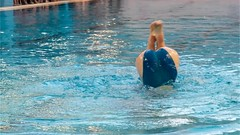 Gala de Natation Artistique (Xtian du Gard) Tags: xtiandugard nîmes gard france piscine fenouillet nage nageuses natation nageartstique filles prettywoman