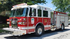 Engine 322 (Central Ohio Emergency Response) Tags: liberty township delaware county ohio powell fire department truck sutphen engine pumper