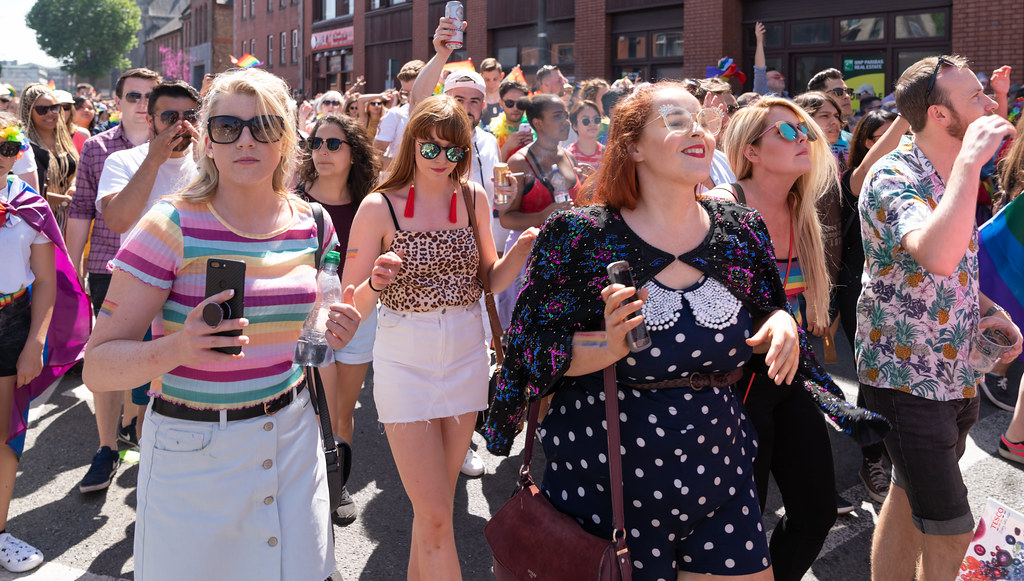ABOUT SIXTY THOUSAND TOOK PART IN THE DUBLIN LGBTI+ PARADE TODAY[ SATURDAY 30 JUNE 2018] X-100239