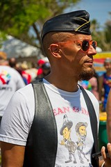 Pride 2018 70 (LarryJay99 ) Tags: pridefest2018 2018 lakeworth florida festival people light man men guy guys dude male studly manly dudes handsome gayfest festivals prideevents people2018 canon60d blackmale black sunshades sunglasses glasses faces facialhair caps