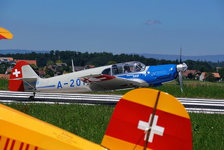 Messerschmitt Taifun + Buecker Jungmann